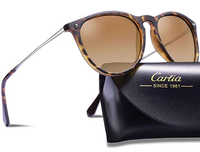 Carfia Vintage Polarised Sunglasses