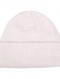 Dents Knitted Soft Yarn Beanie - Winter White