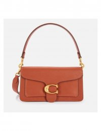 COACH NEW YORK Women's Mixed Leather Tabby Shoulder Bag 26 - 1941 Saddle
