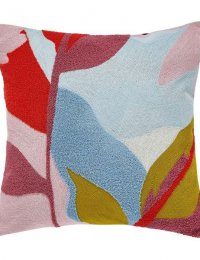 JOULES Abstract Floral Cushion 40cm x 40cm Multi